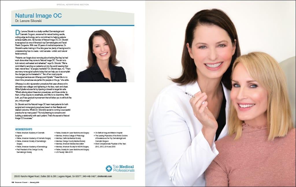 Dermatologist Dr. Sikorski Featured in Orange Coast Magazine