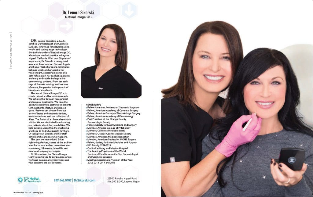 January 2019 OC Magazine Article Featuring Dr. Sikorski